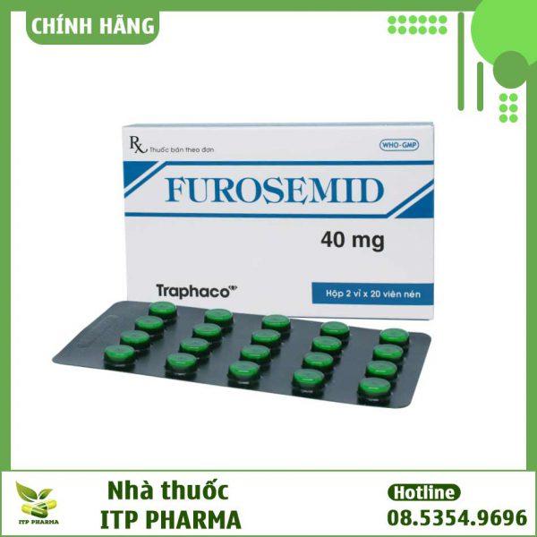 Hình ảnh hộp và vỉ thuốc Furosemid