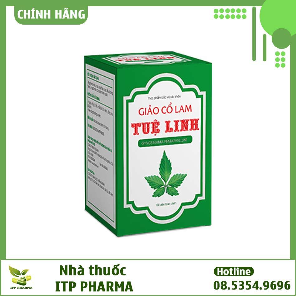 Hình ảnh hộp viên uống Giảo Cổ Lam Tuệ Linh