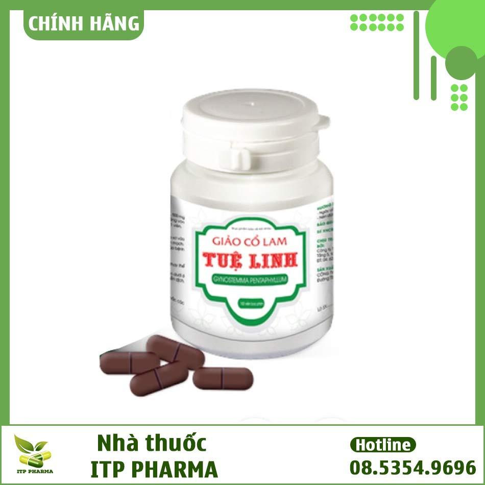 Hộp viên 100 viên uống Giảo Cổ Lam Tuệ Linh