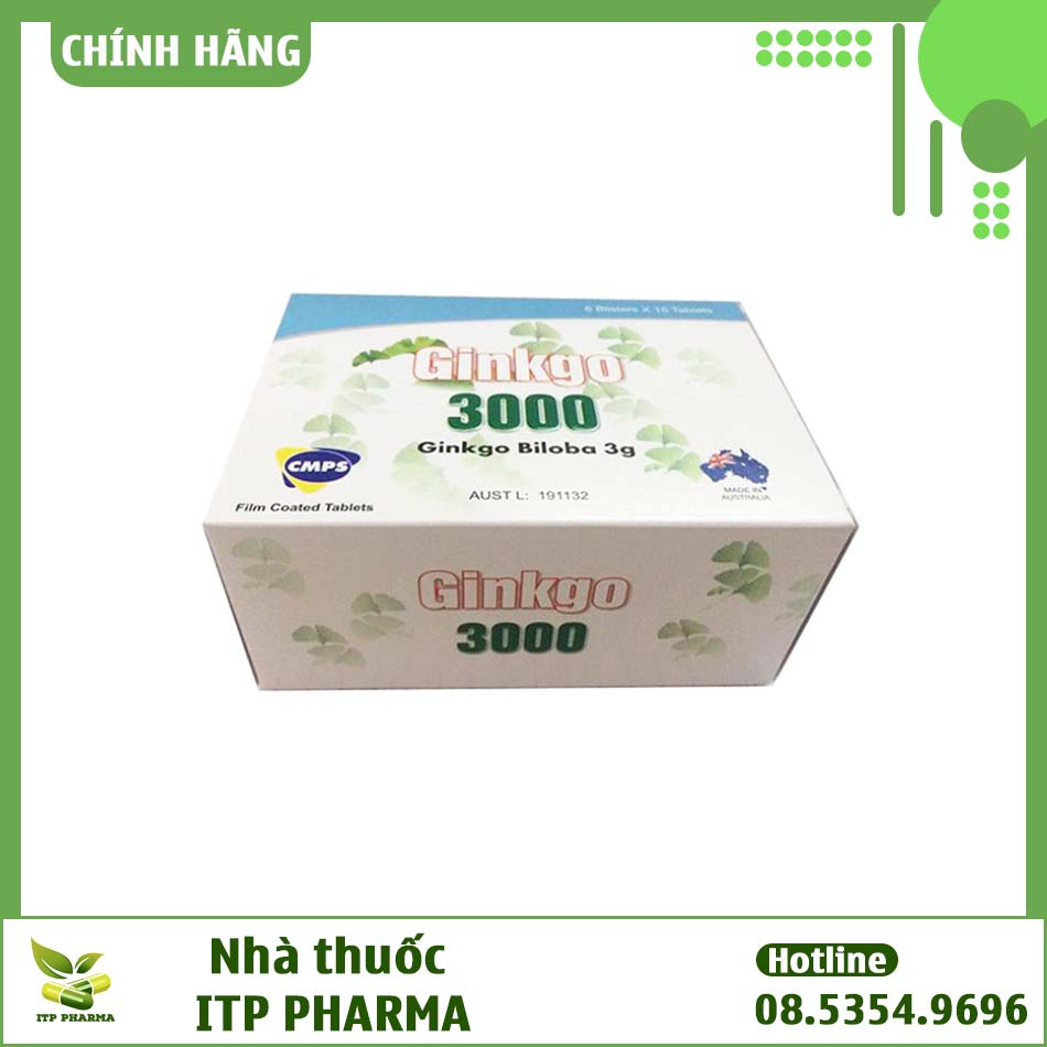 Hộp thuốc Ginkgo 3000