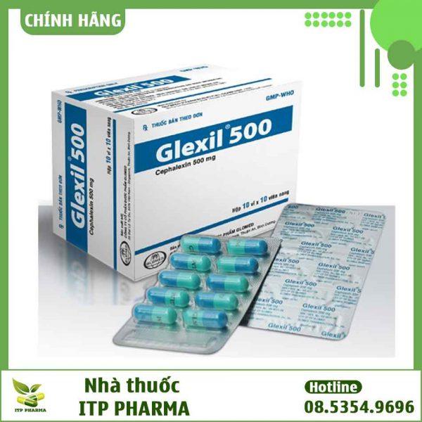 Hình ảnh thuốc Glexil 500mg