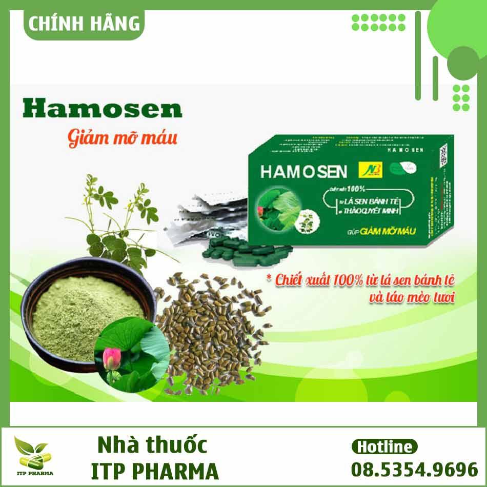 Thành phần của Hamosen là gì?