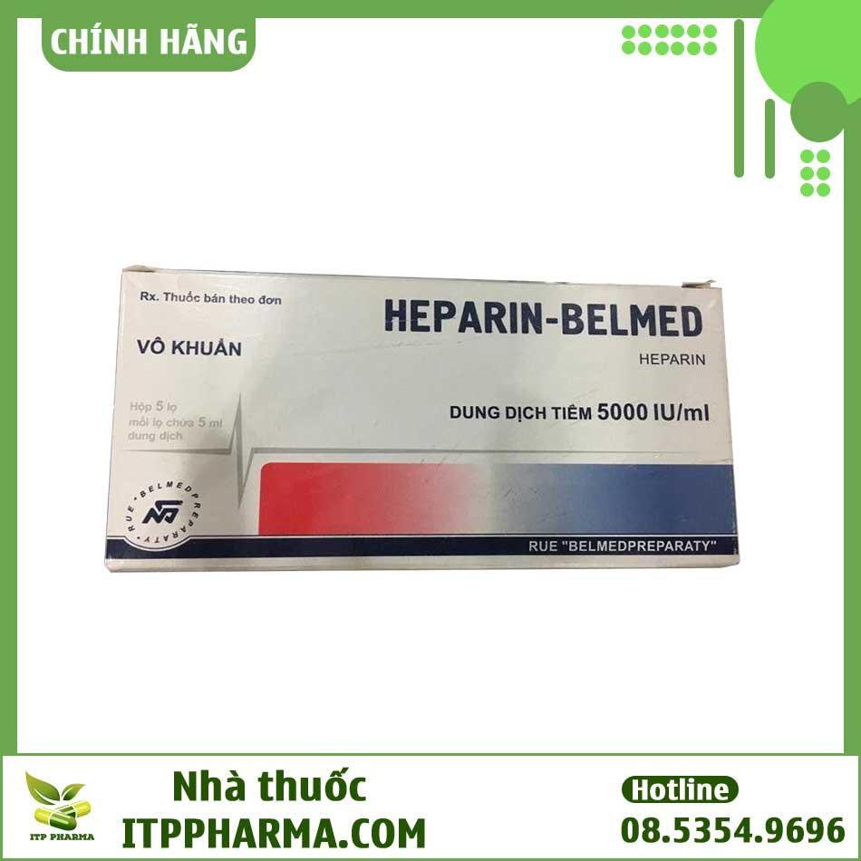 Thuốc Heparin-Belmed chống đông máu