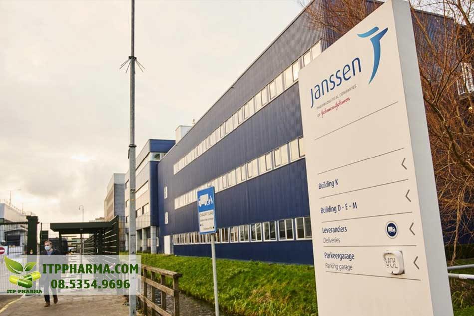 Hình ảnh một trụ sở của Janssen
