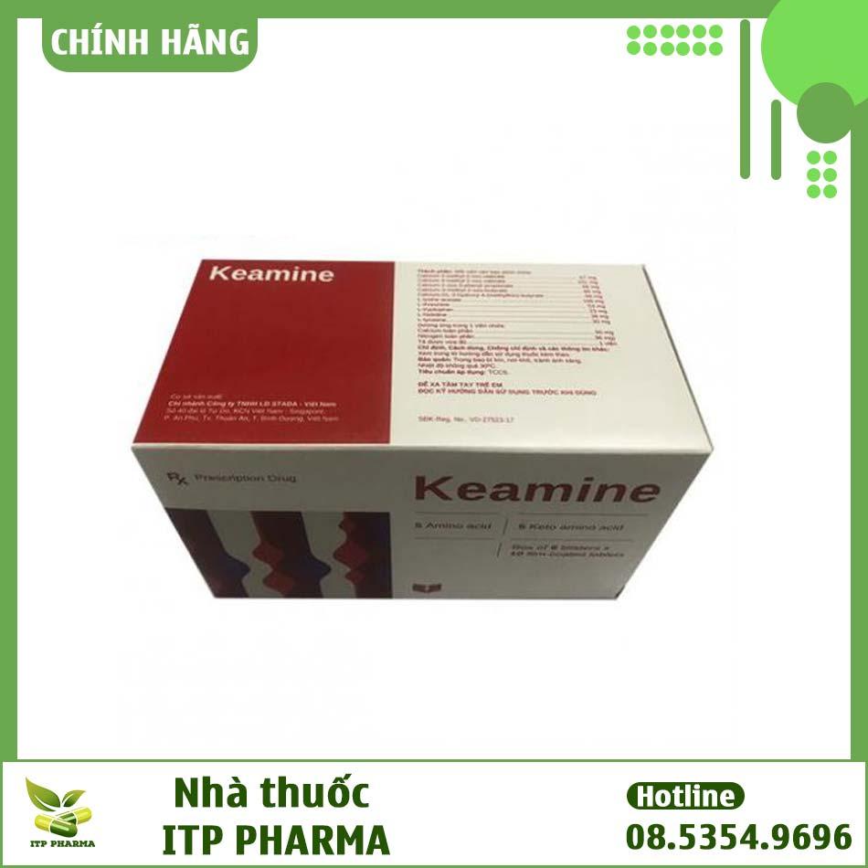 Hình ảnh hộp thuốc Keamine Stada