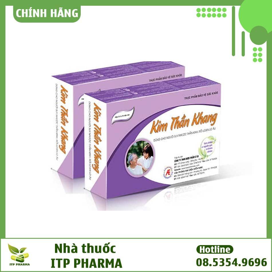 Kim Thần Khang - Sản phẩm dành cho người rối loạn thần kinh thực vật