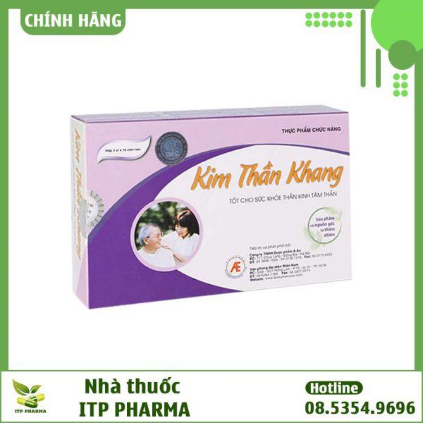 Hình ảnh hộp thuốc Kim Thần Khang
