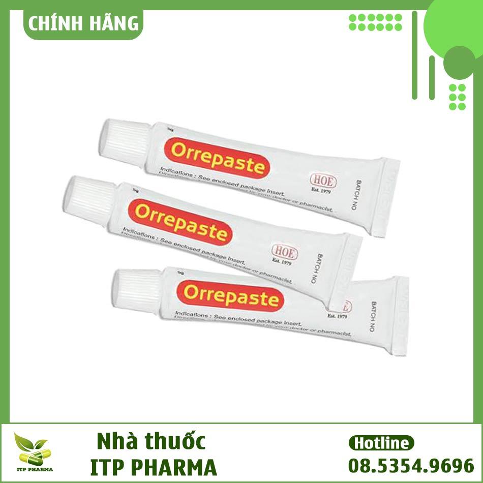 Hình ảnh tuýp thuốc Orrepaste