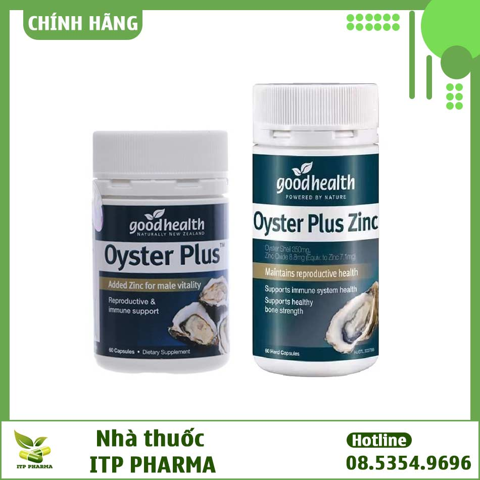 So sánh Oyster Plus và Oyster Plus Zinc