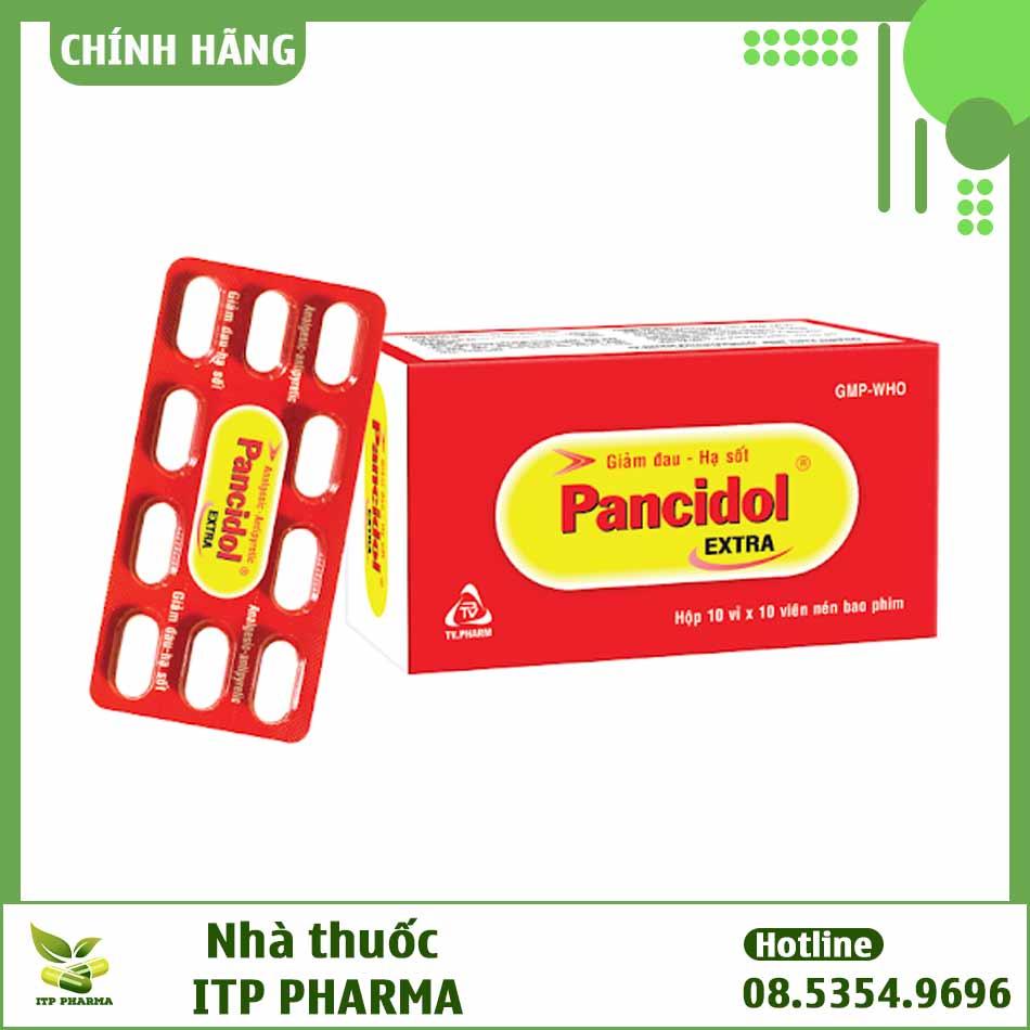 Hình ảnh thuốc Pancidol Extra