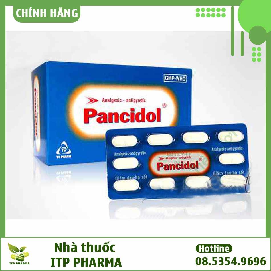 Hình ảnh thuốc Pancidol