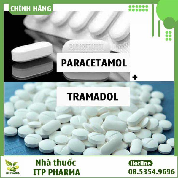 Thuốc Philduocet là sự kết hợp của Paracetamol và Tramadol