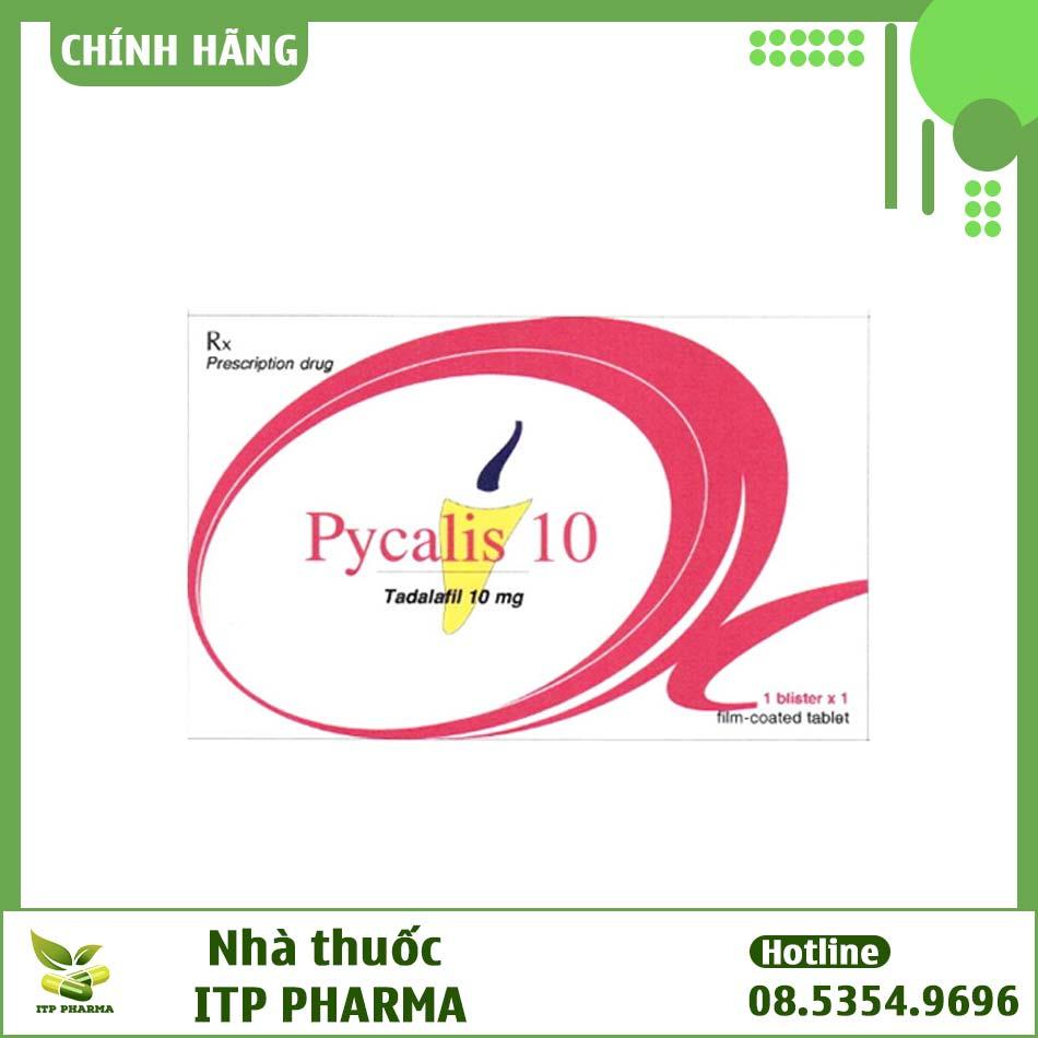 Hộp thuốc Pycalis 10mg