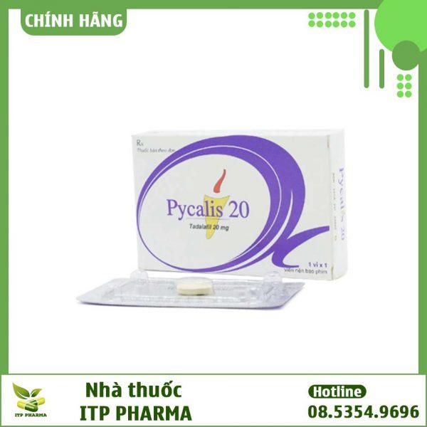 Hộp thuốc Pycalis 20mg