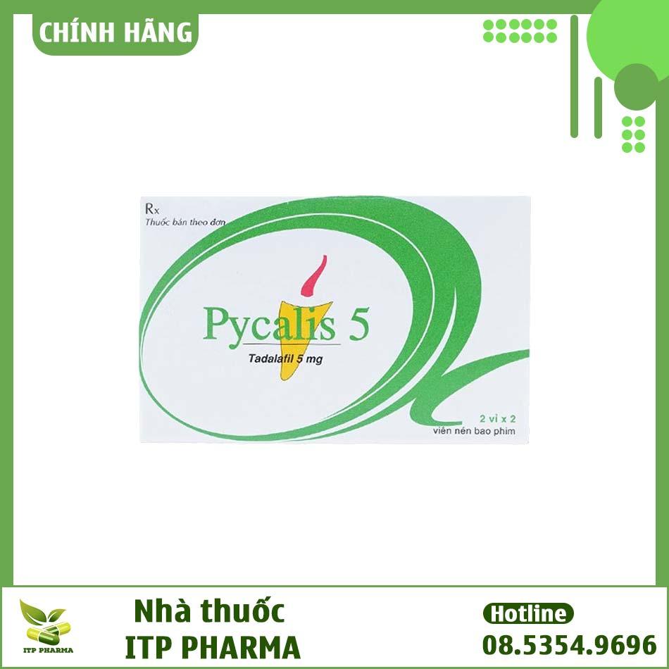Hộp thuốc Pycalis 5mg