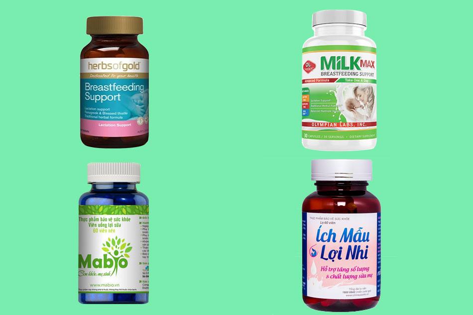 Các sản phẩm lợi sữa cho bà bầu sau sinh