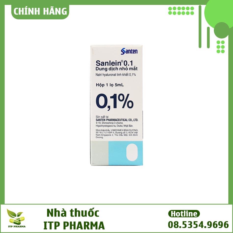 Thuốc Sanlein có giá bao nhiêu?