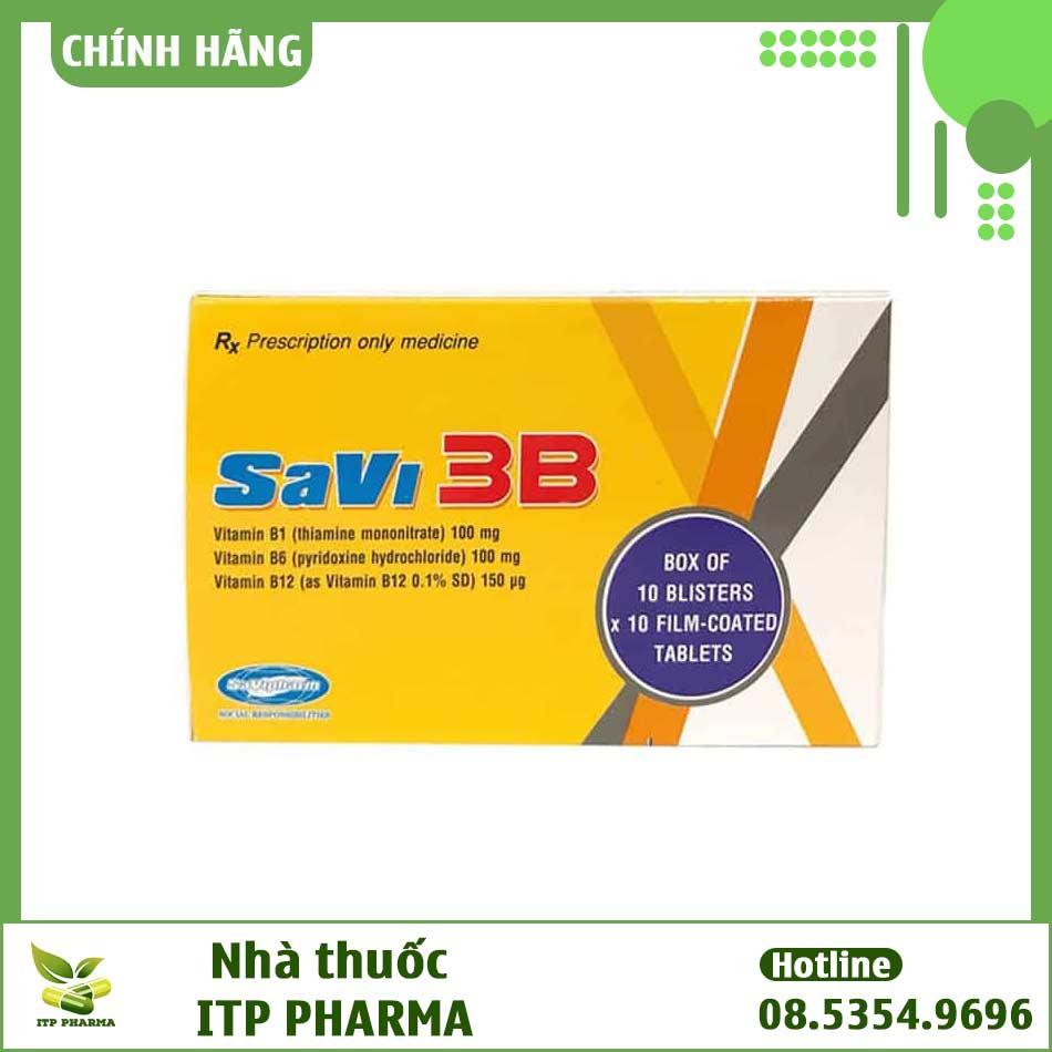 SaVi 3B là thuốc gì?