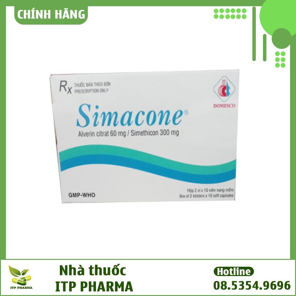 Hình ảnh hộp thuốc Simacone