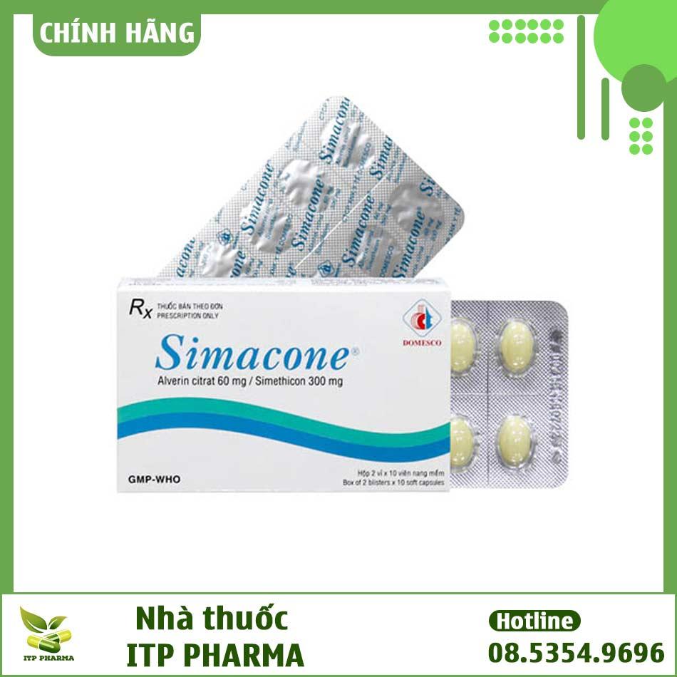 Simacone - Điều trị khó tiêu, trướng bụng, đầy hơi