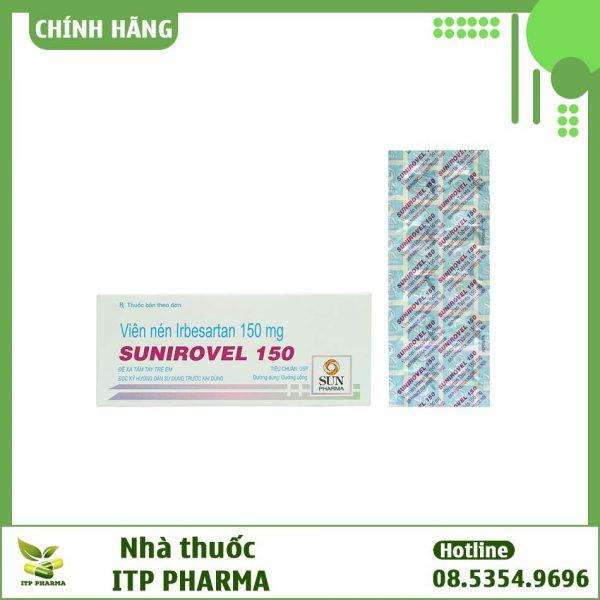 Thuốc Sunirovel 150 - Điều trị tăng huyết áp động mạch vô căn