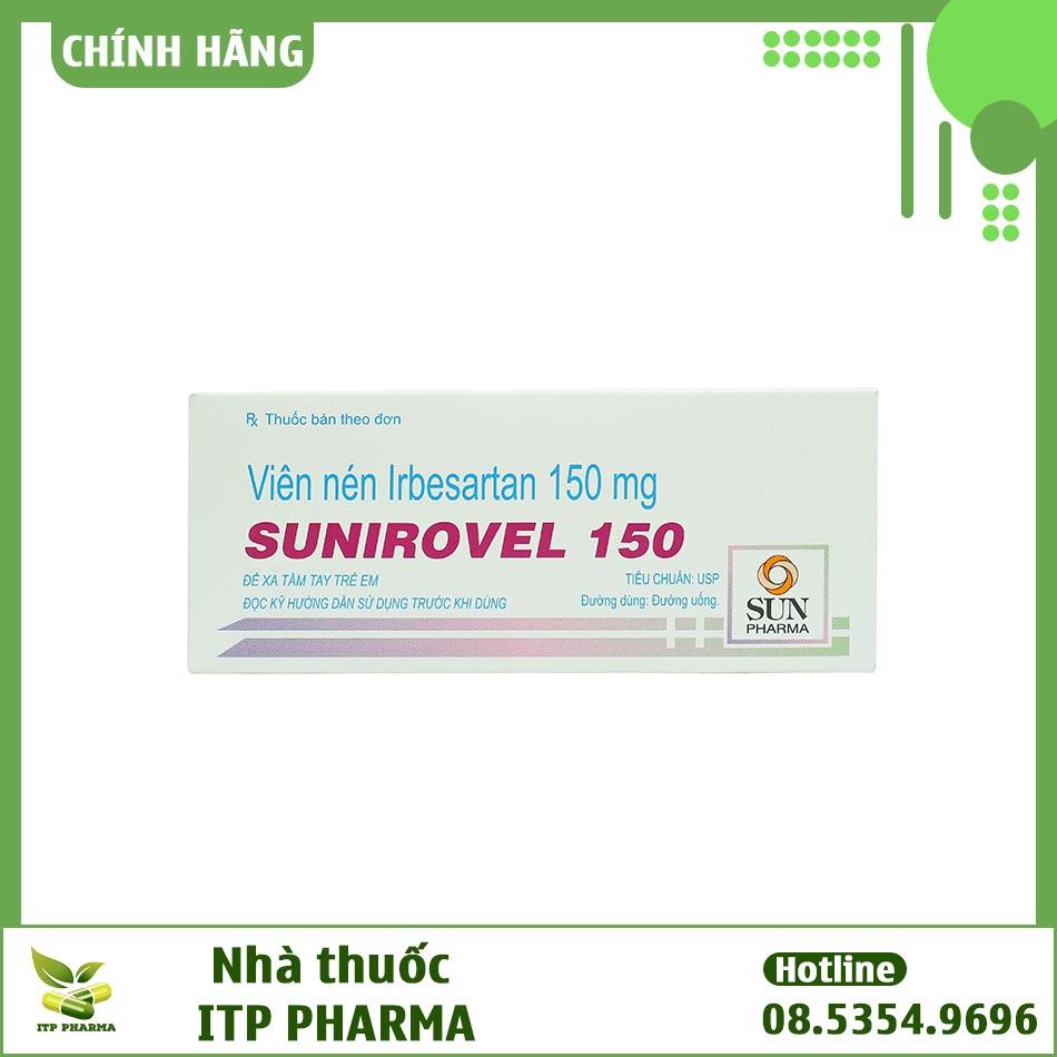 Hình ảnh hộp thuốc Sunirovel 150