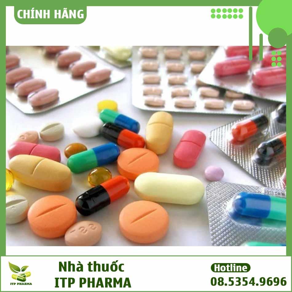 Tương tác thuốc ở thuốc Teanti