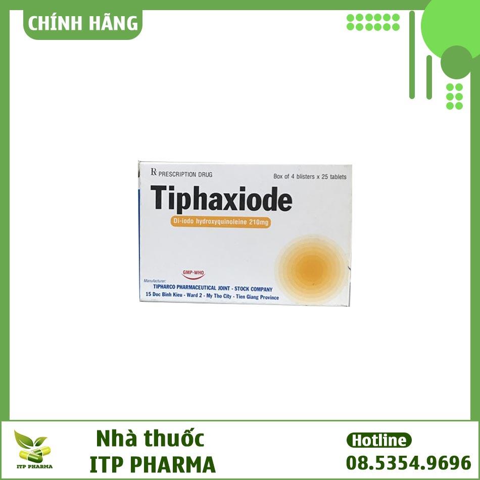 Hình ảnh hộp thuốc Tiphaxiode