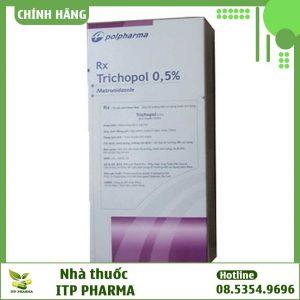 Hình ảnh lọ thuốc Trichopol