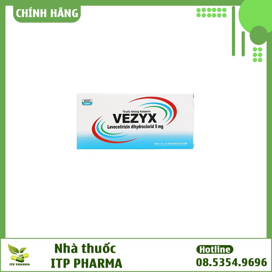 Hình ảnh hộp thuốc Vezyx