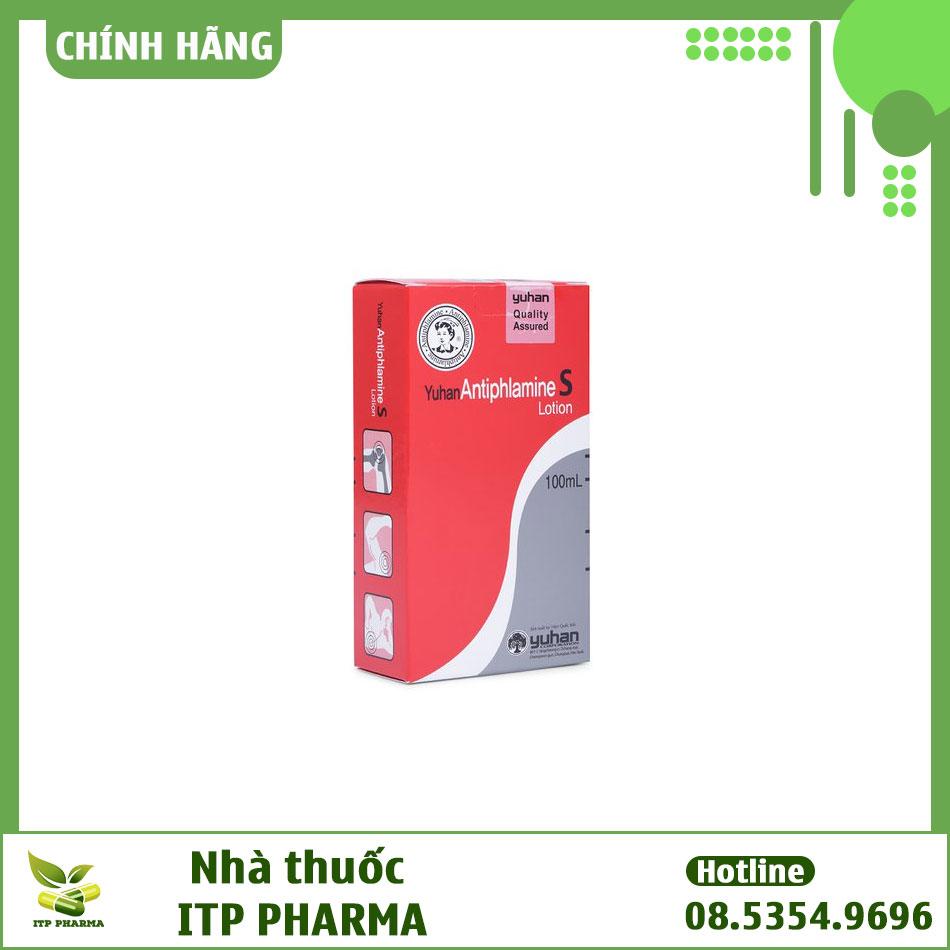 Hình ảnh hộp thuốc Yuhan Antiphlamine