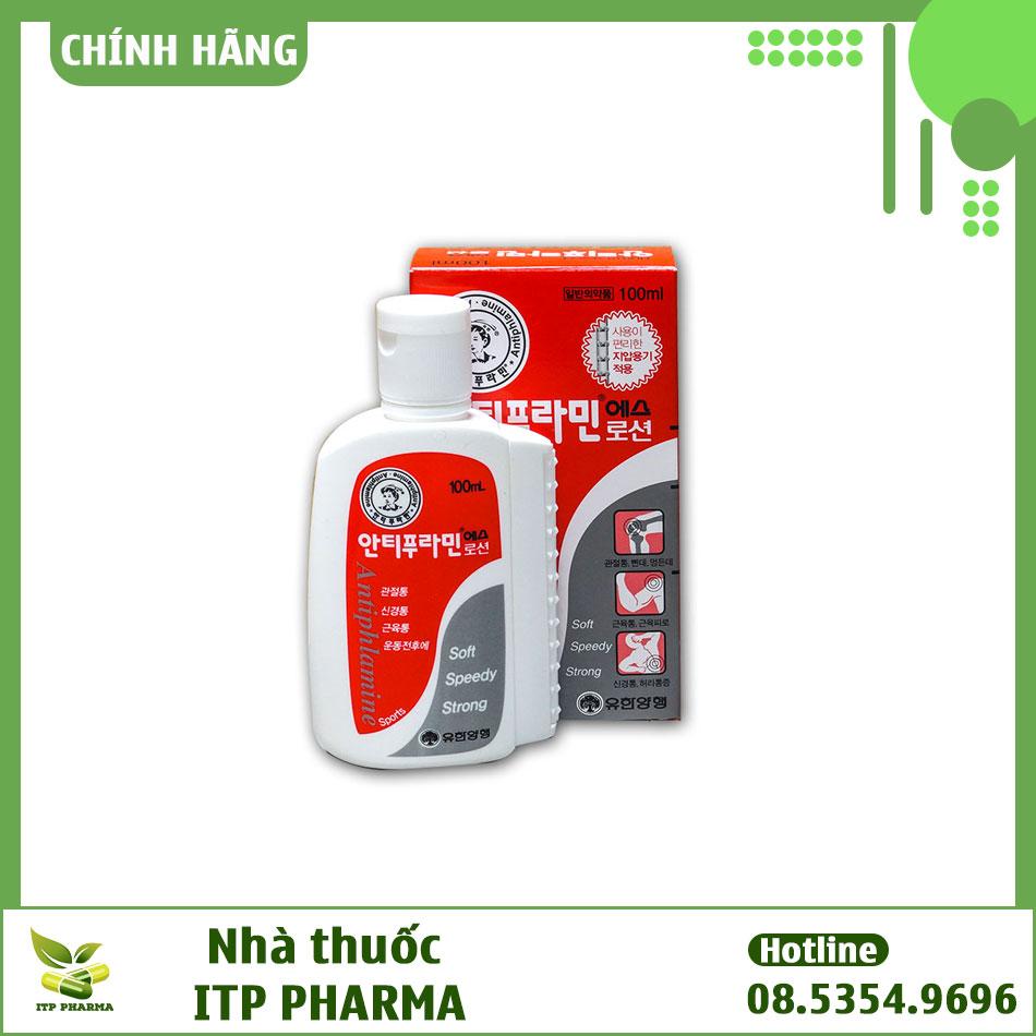 Thuốc Yuhan Antiphlamine giá bao nhiêu?