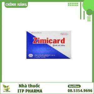 Hình ảnh hộp thuốc Zimicard
