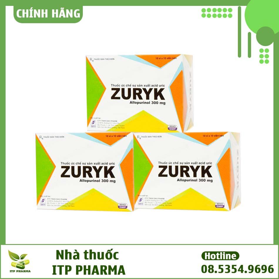 Zuryk - Điều trị bệnh Gout và các bệnh xương khớp hiệu quả