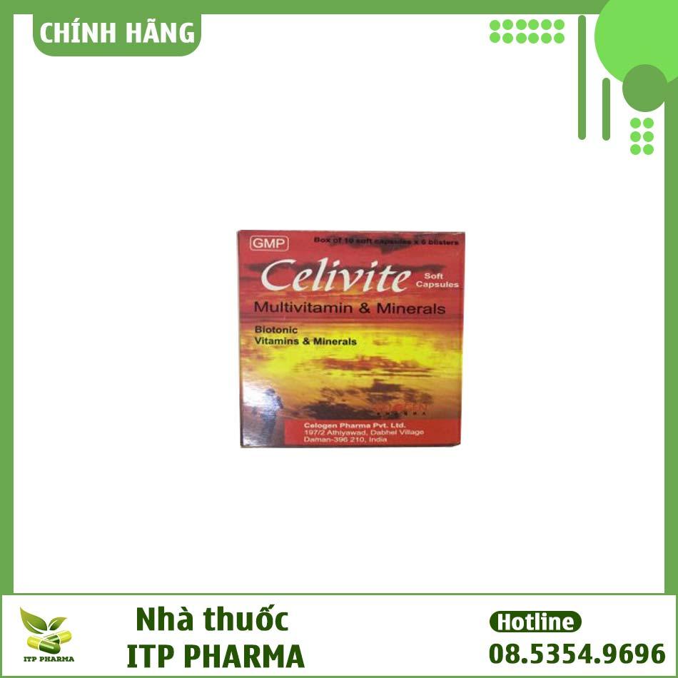 Hình ảnh hộp thuốc Celivite