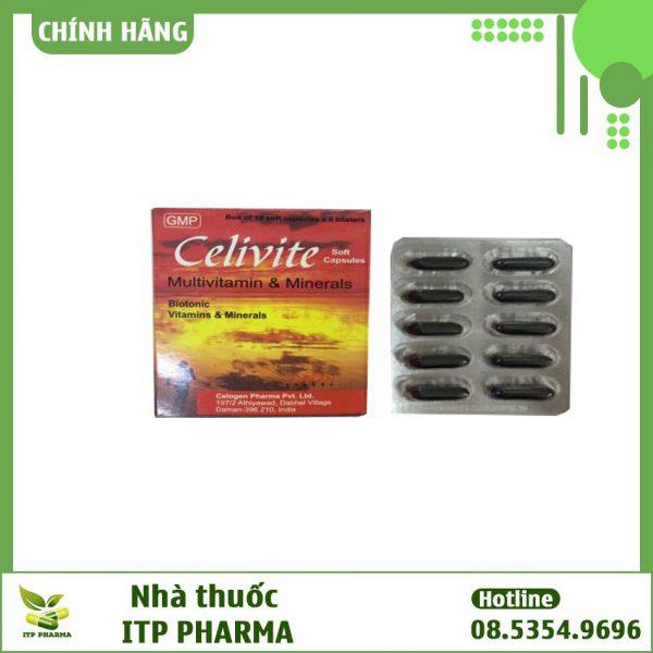 Thuốc Celivite - Giúp tăng sức đề kháng của cơ thể, bổ sung các vitamin