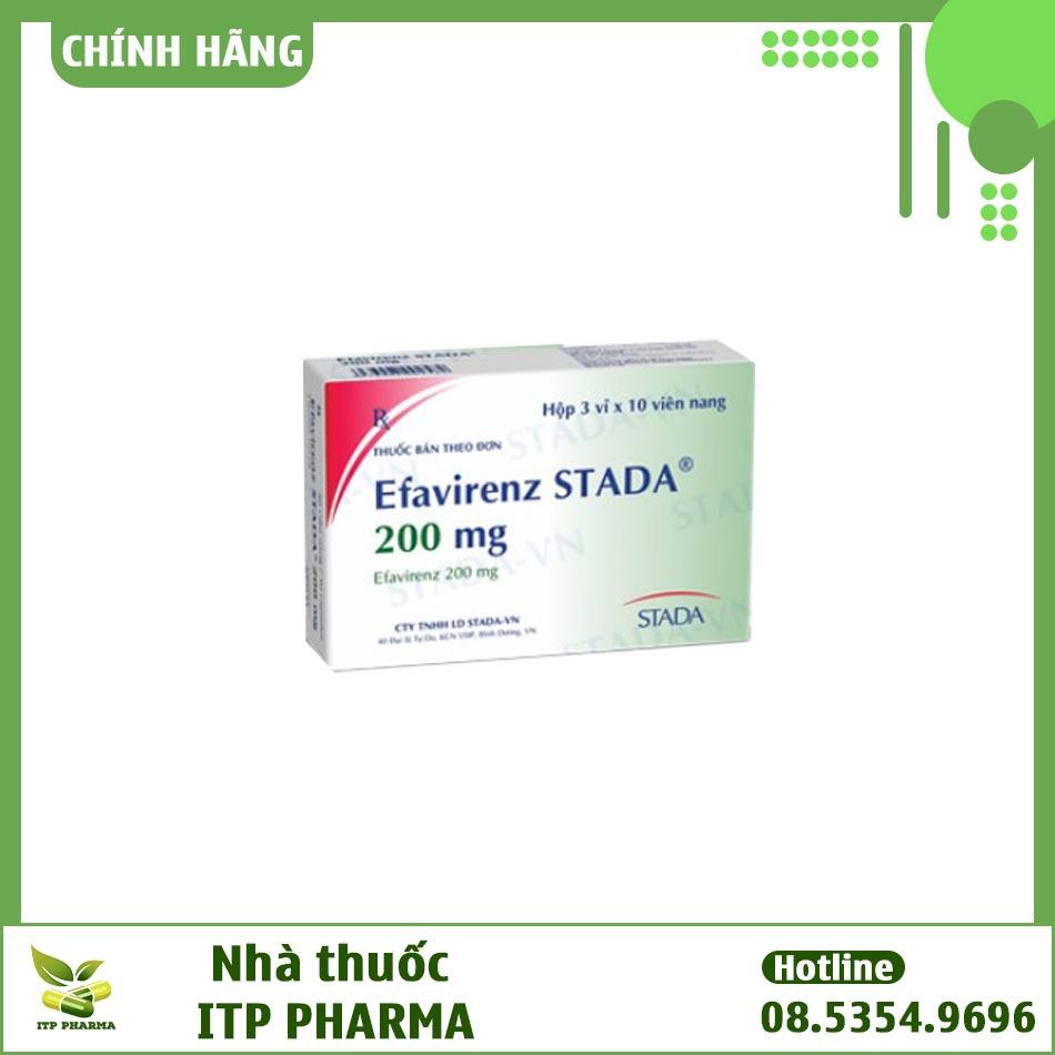 Hình ảnh hộp thuốc Efavirenz