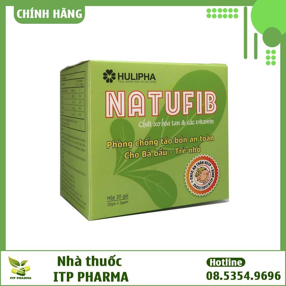Natufib bào chế từ các thành phần thiên nhiên