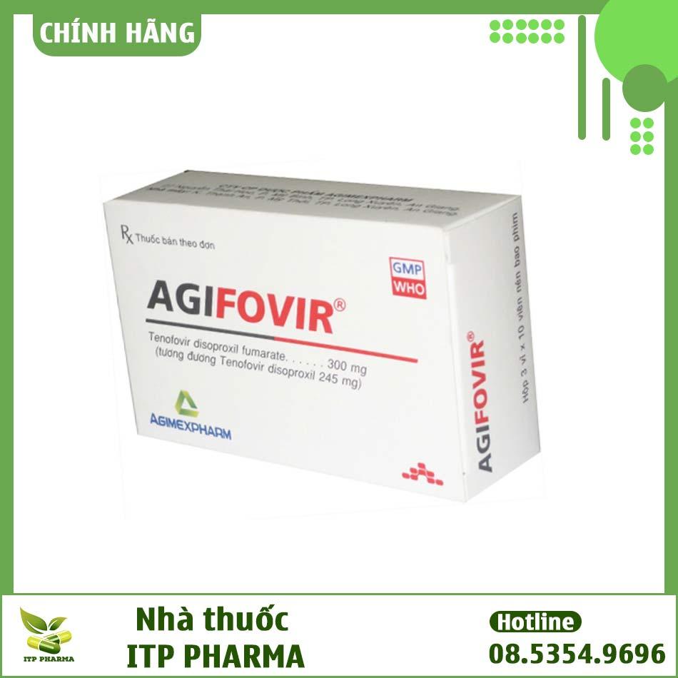 Thuốc Agifovir 300mg có tác dụng gì?