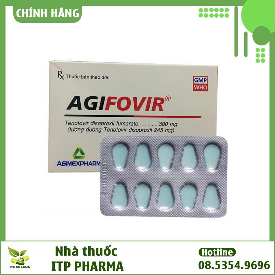 Thuốc phòng và điều trị phơi nhiễm HIV Agifovir 300mg