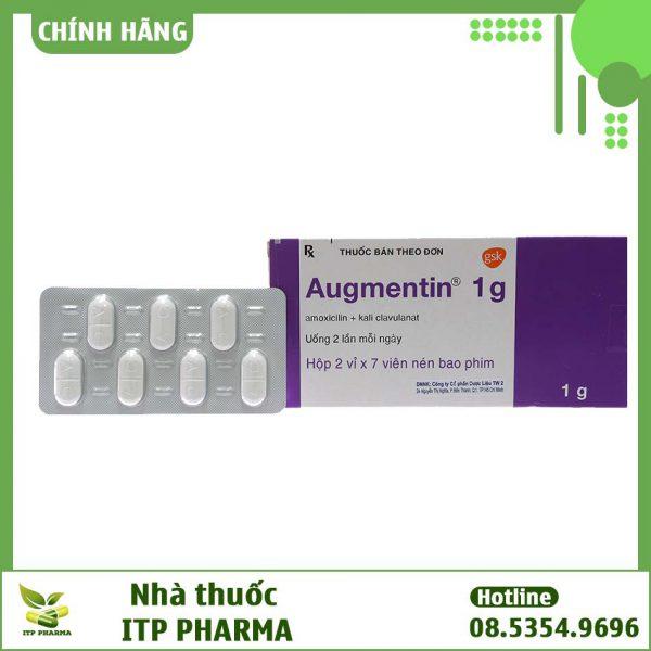Thuốc Augmentin 1g