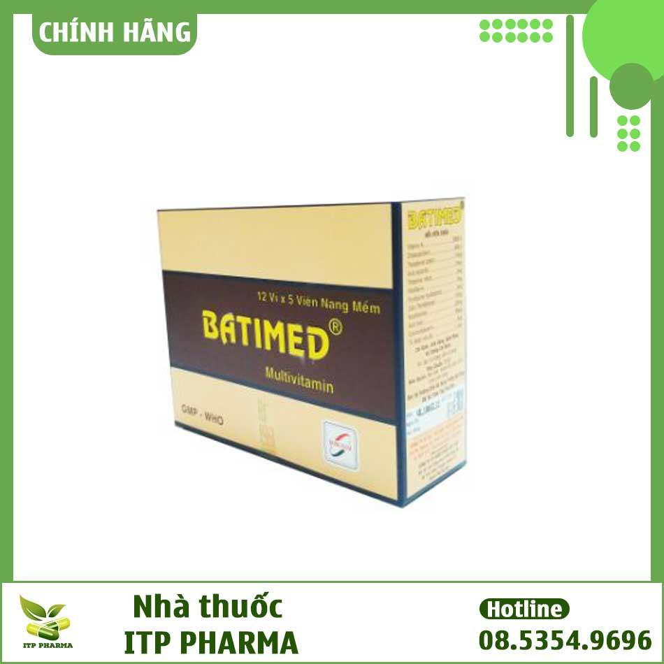 Dược động học thuốc Batimed