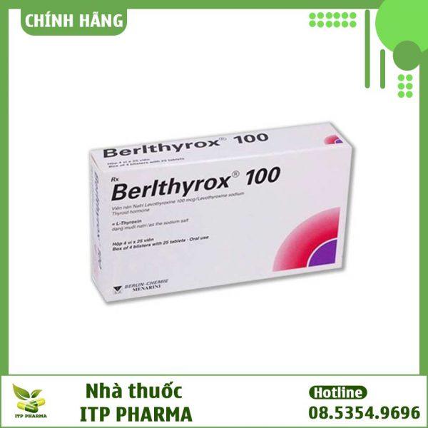 Thuốc Berlthyrox - Thuốc điều trị suy tuyến giáp