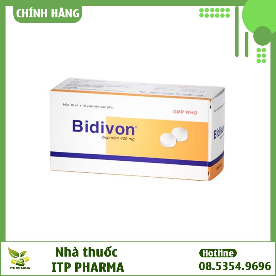 Hình ảnh hộp thuốc Bidivon