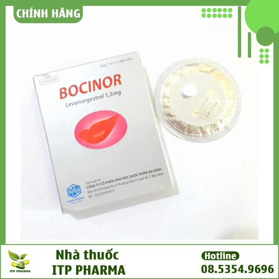Cách dùng Bocinor