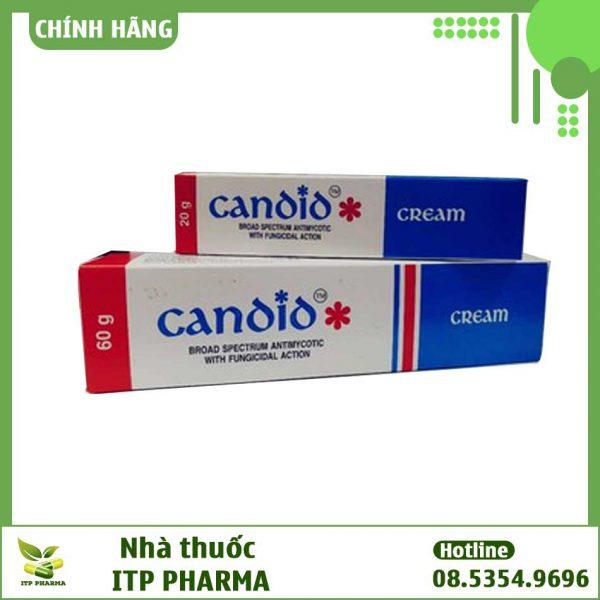 Hình ảnh hộp thuốc Canoio cream