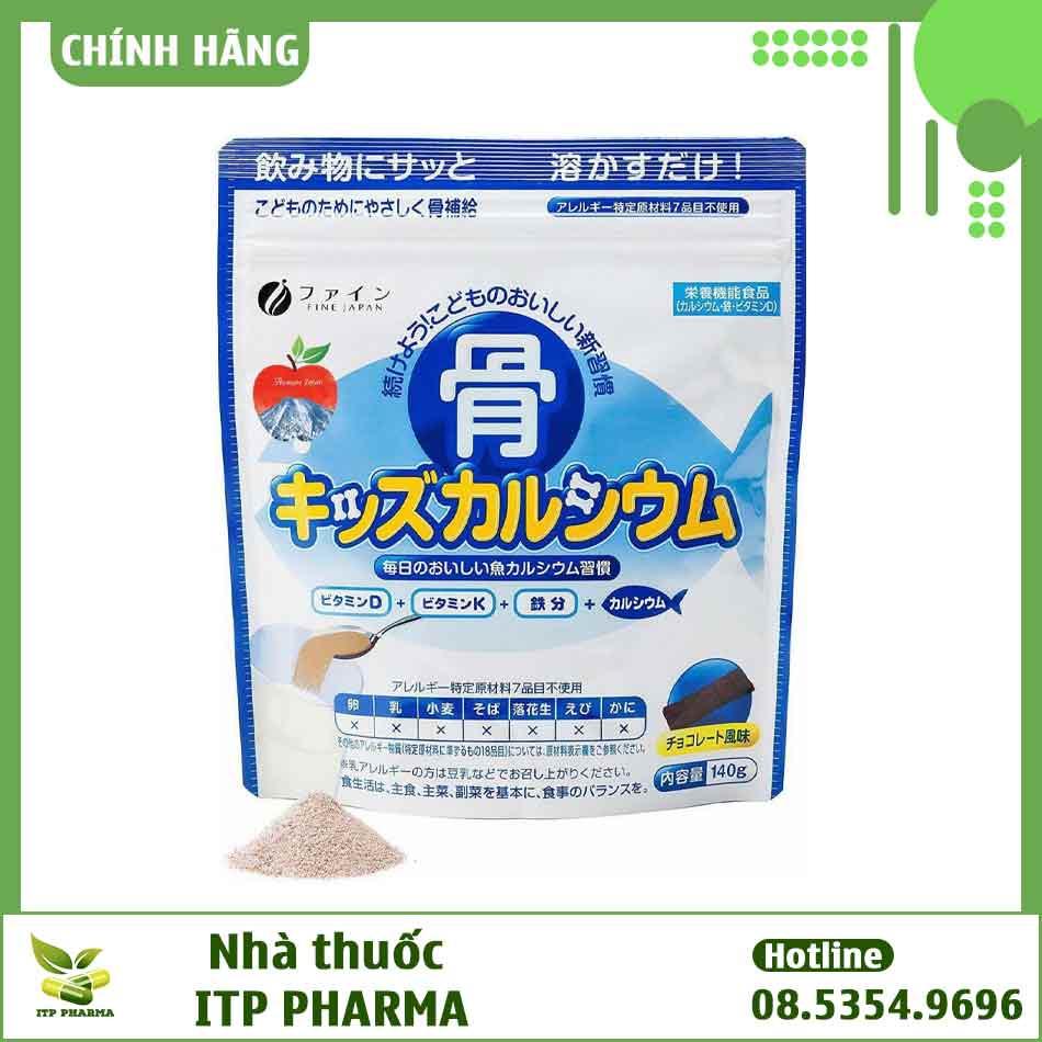 Bột Canxi cá tuyết Nhật Bản có thành phần gì?