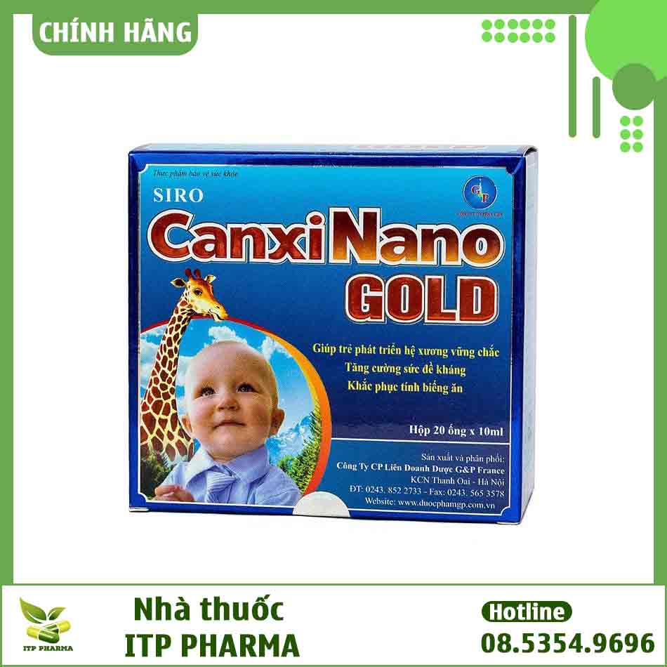 Hình ảnh Canxi Nano Gold