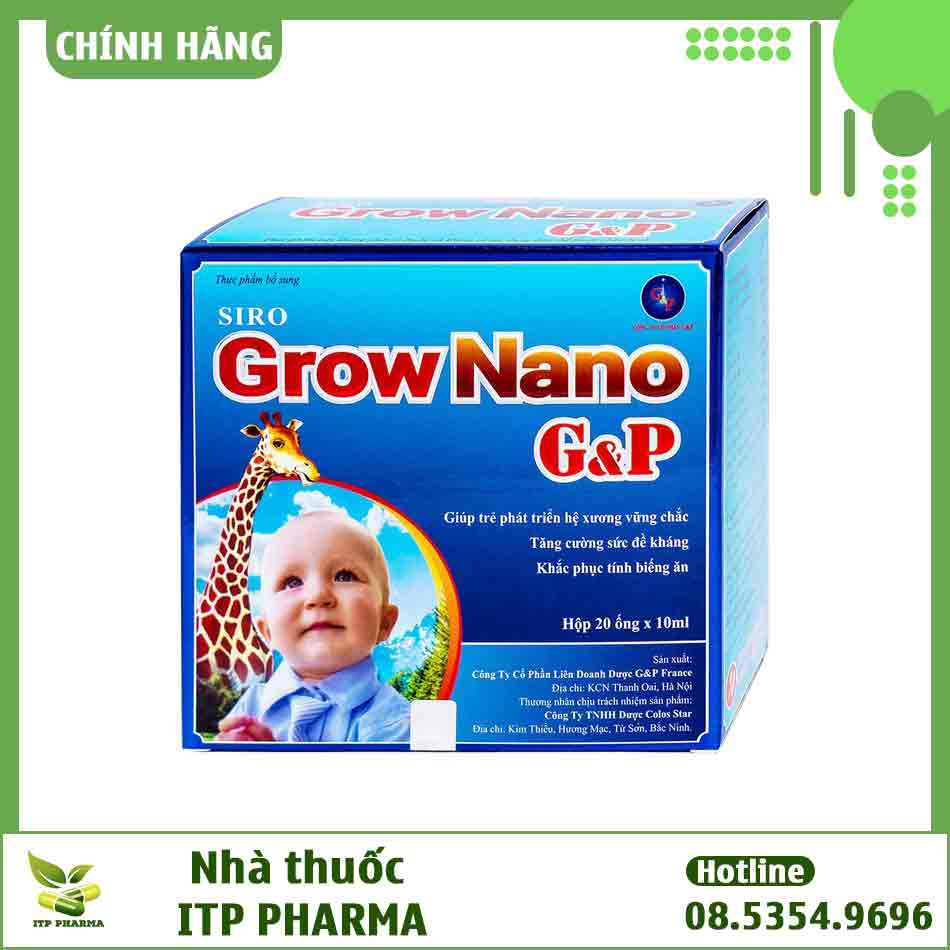 Siro Canxi Nano Gold có giá bao nhiêu?