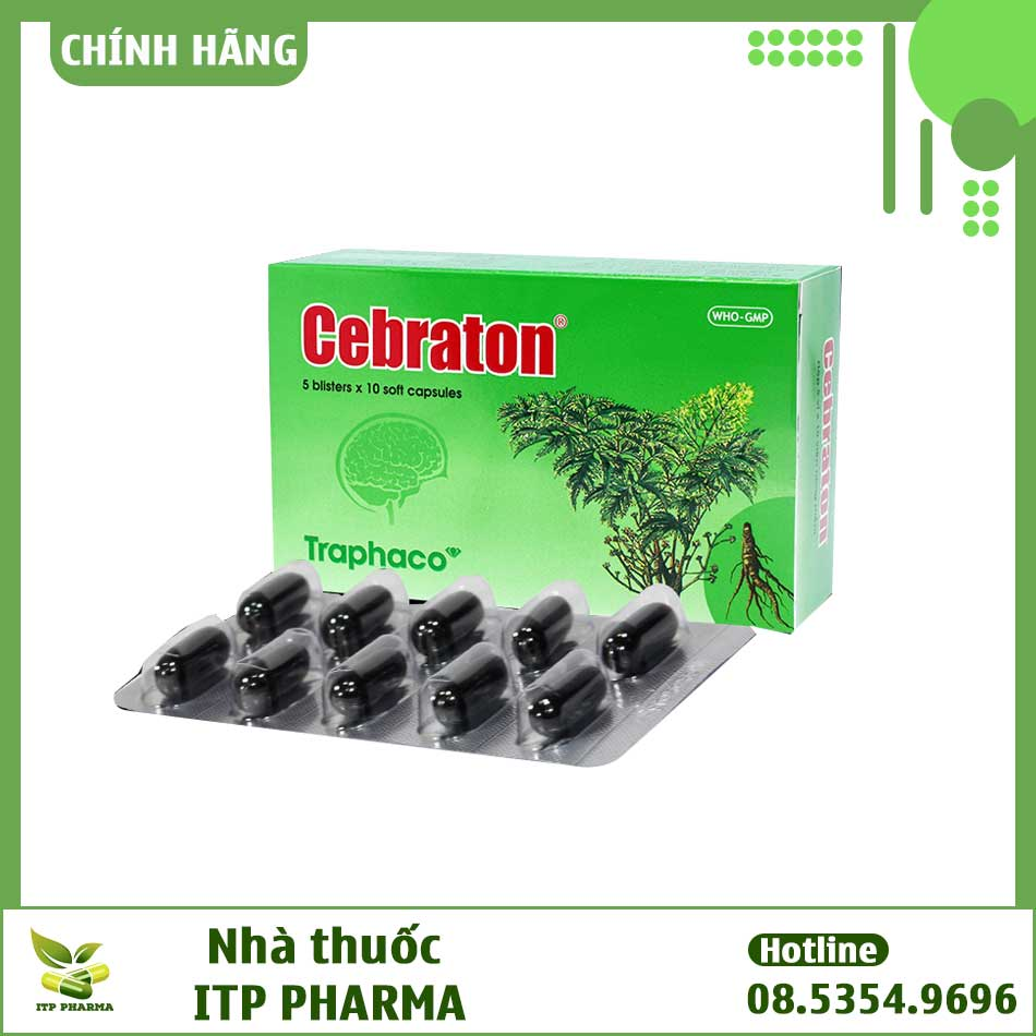 Viên uống bổ não Cebraton